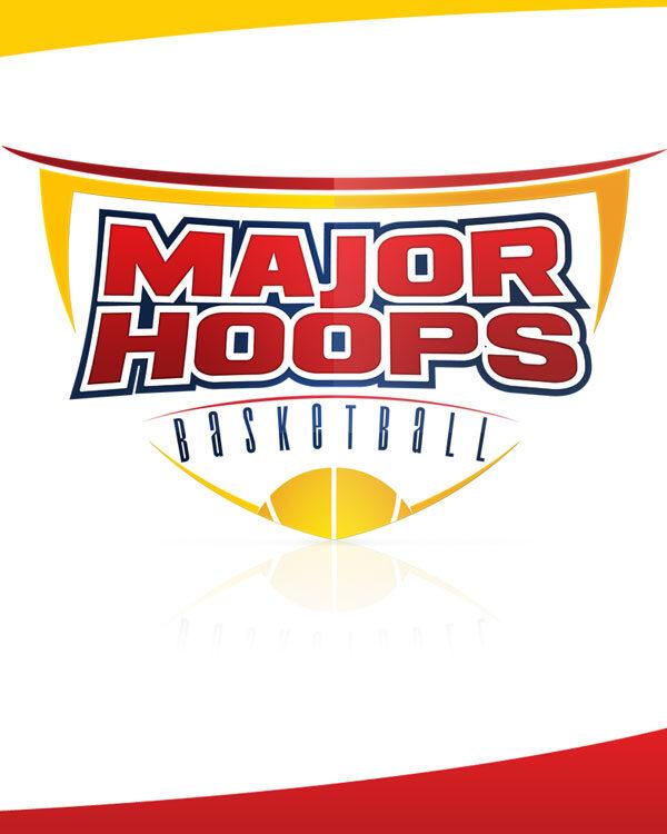 Major Hoops Basketball Logo