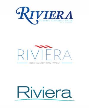 Riviera Logo Mockups