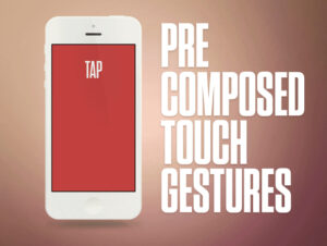 Touch Control Animation Freebie